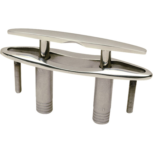 Click here to buy Seachoice Stainless Steel Pull-Up Cleat with Studs by Seachoice Products.