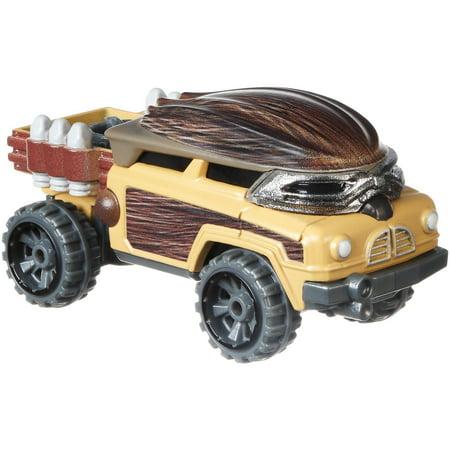 Hot Wheels Star Wars Chewbacca Character