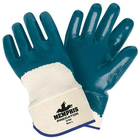 Predator™ Nitrile Gloves, Palm Coated (8 Dozens)