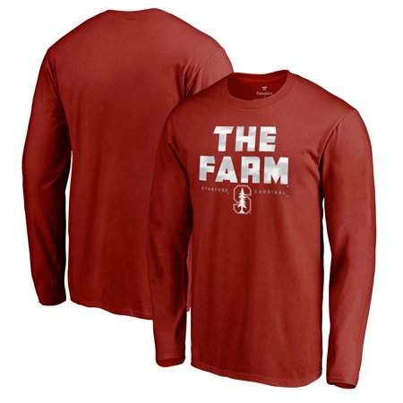 Stanford Cardinal Fanatics Branded Hometown Collection Long Sleeve T-Shirt - Cardinal