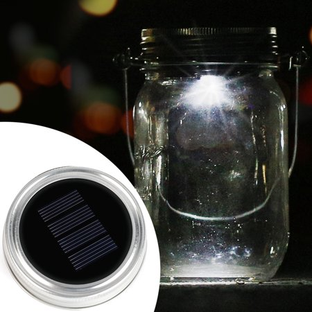 (Solar Mason Jar Lid - Kohree 3 Pack LED Mason Jar Lights for Glass Mason Jars and Garden Decor, Solar jar Light)