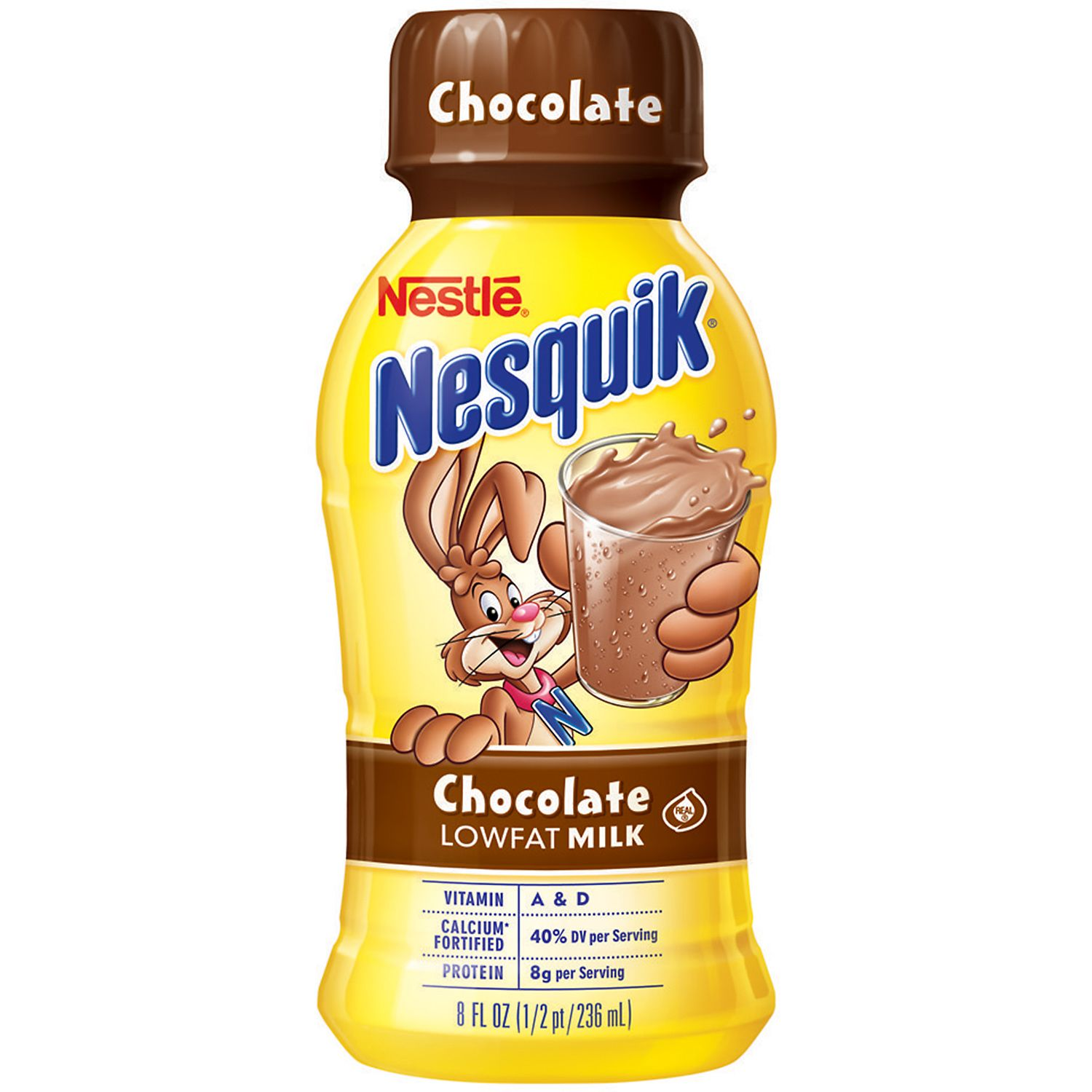 Nestle Nesquik Chocolate Lowfat Milk - 15/8 oz.