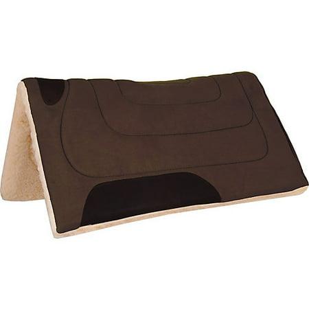 Mustang Faux Suede w/Fleece Bottom Pad Brown