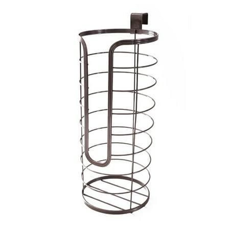 Splash Home Tank Free Standing Toilet Paper Holder Storage For Bathroom - Oil Rubbed (Tumbler Holder Oil Rubbed Bronze)