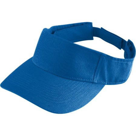 6226 Sport Twill Visor-youth ROYAL OS for $<!---->