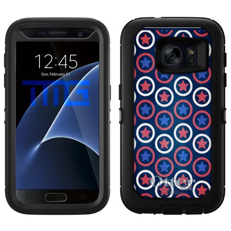 OtterBox Defender Samsung Galaxy S7 Case - Patriotic Stars Stripes and Circles OtterBox Case