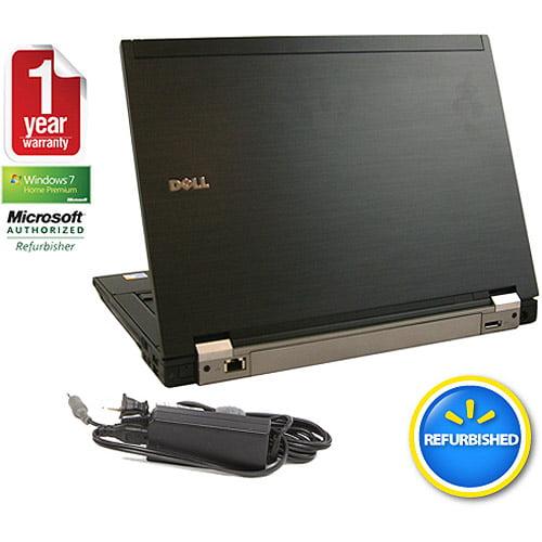 """Refurbished Dell Black 14.1"""" E6400 Laptop PC with Intel Core 2 Duo Processor and Windows 7 Home Premium"""