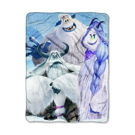 Smallfoot Snow Friends Super Soft Blanket](Blanket Of Snow)