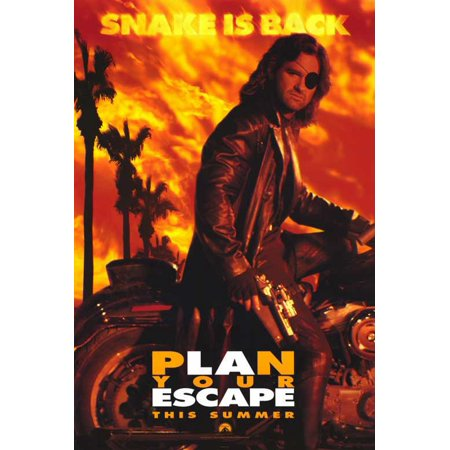 Escape From L.A. POSTER Movie Mini Promo