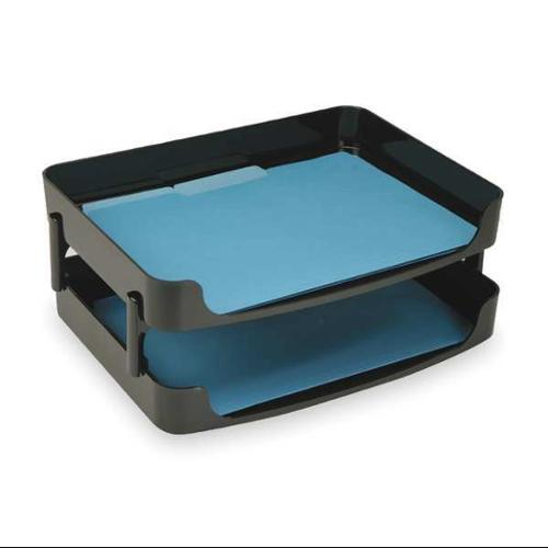 "14"" Letter Tray Side Load, Black ,Officemate, 22206"