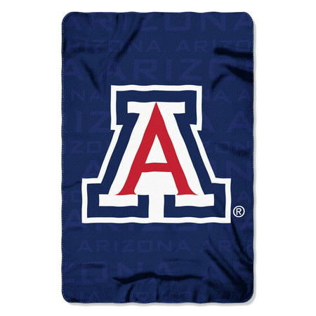 "NCAA - Arizona Wildcats , ""Shadow"" 40""x 60"" Fleece Throw"