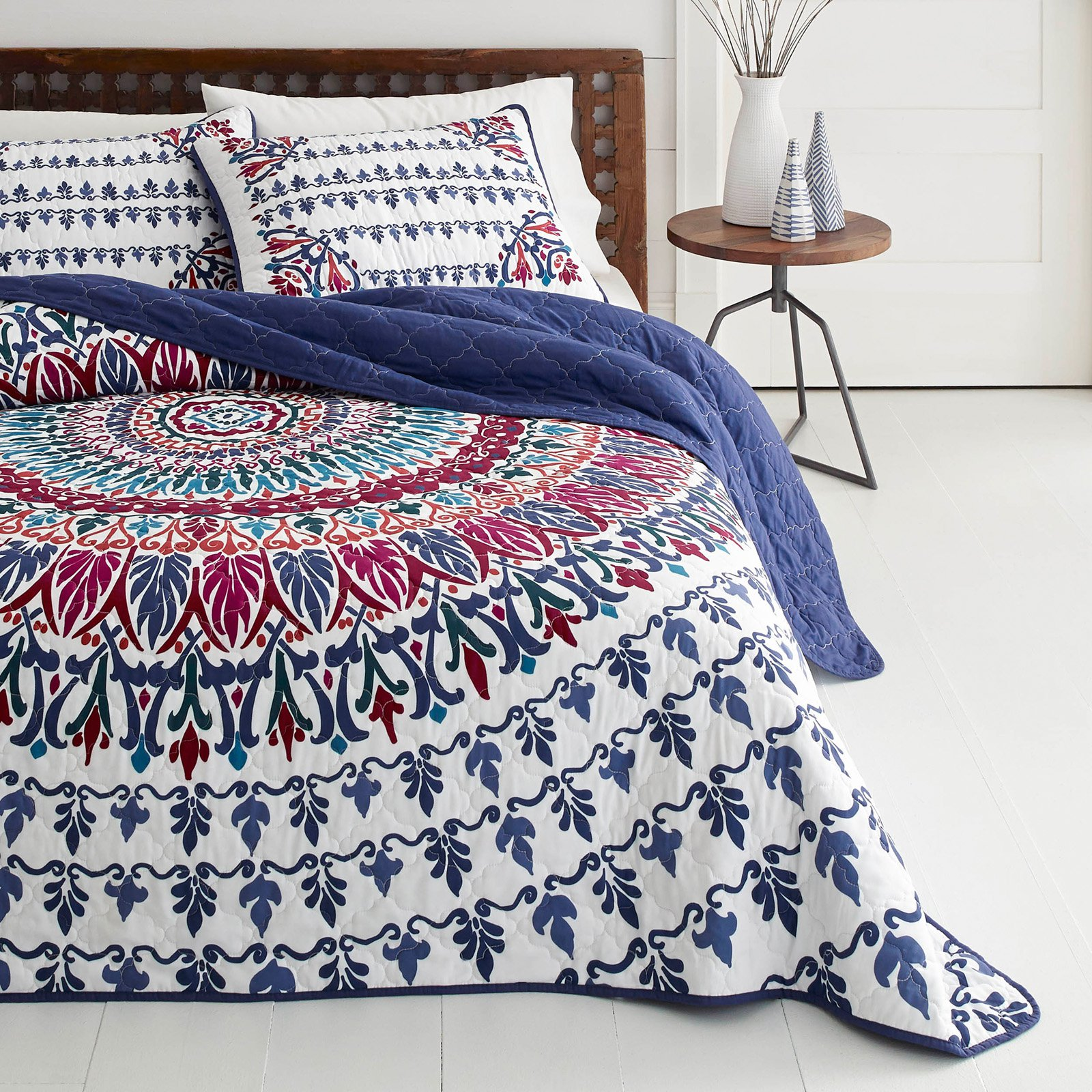 Henna Medallion Reversible Quilt Set by Azalea Skye by Overstock