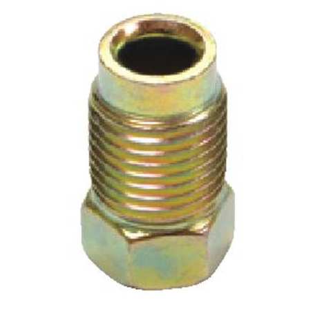Nut,Inverted Flare,M10 x 1.0 Thread,PK4 SUR&R BR205