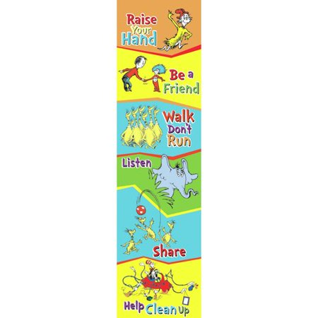 Eureka Classroom Seuss Cat in The Hat Class Rules Poster](Cat In The Hat Stand Up)