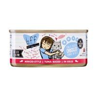 (24 Pack) Weruva BFF Tuna & Chicken Chuckles Grain-Free Wet Cat Food, 5.5 oz. Cans