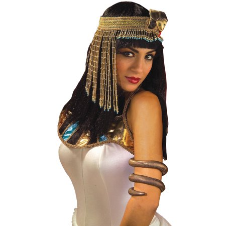 Snake Headpiece Adult Halloween Accessory - Egyptian Headpiece Halloween