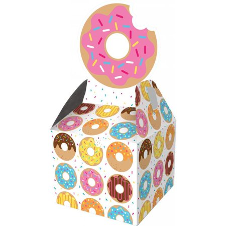 Creative Converting Donut Time Favor Boxes, 8 ct - Donut On A String Game