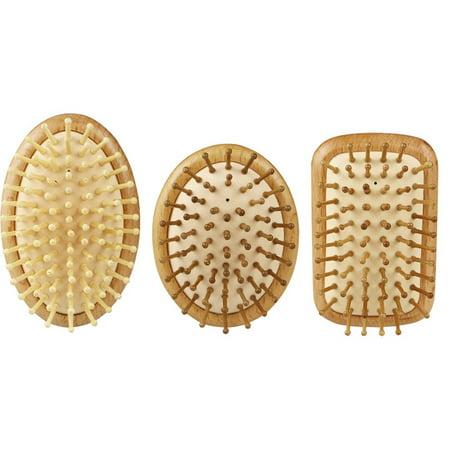 Airbag Massage Comb Portable Head Massage Anti-static Wood Comb Fluffy Comb - image 5 de 6