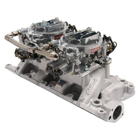 Edelbrock Dual Quad Kit RPM Air-Gap 289-302 Ford Air Gap Dual Quad