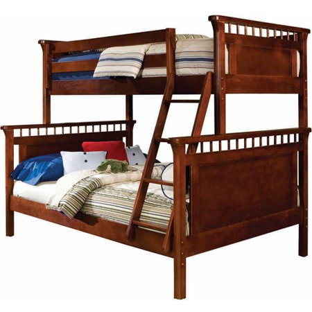 Generic Twin Over Full Bunk Bed Cherry