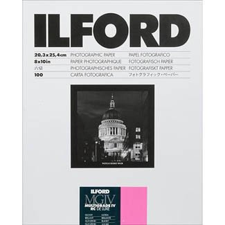 Ilford 8X10 RC Glossy Paper 100 Sheet  1770340