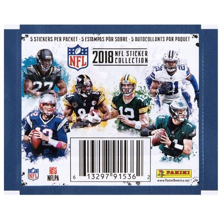 - 2018 NFL Sticker Collection Booster Pack