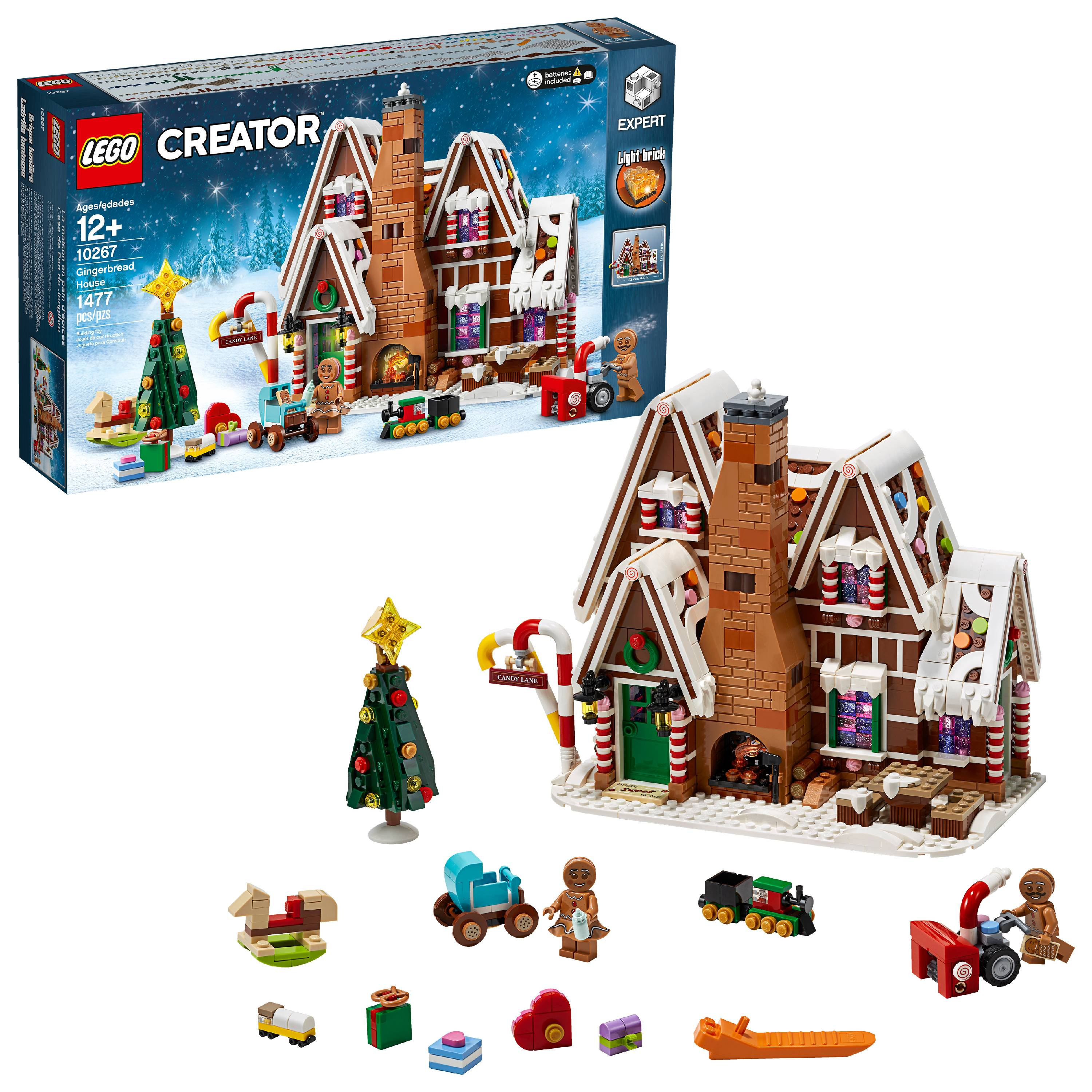 tile Christmas Gingerbread Man /& Woman with Baby - FREE SHIPPING NEW LEGO