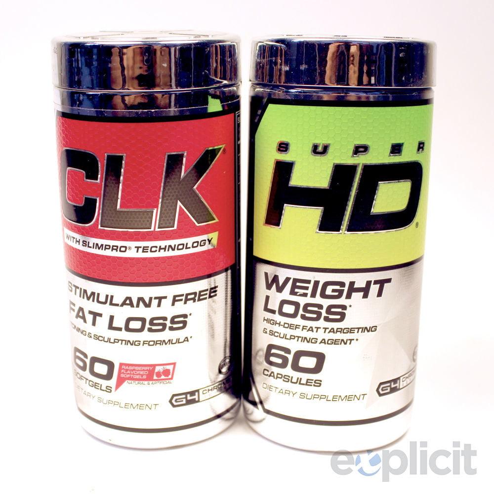 Cellucor Super HD & CLK Stack - 60 Capsules Each