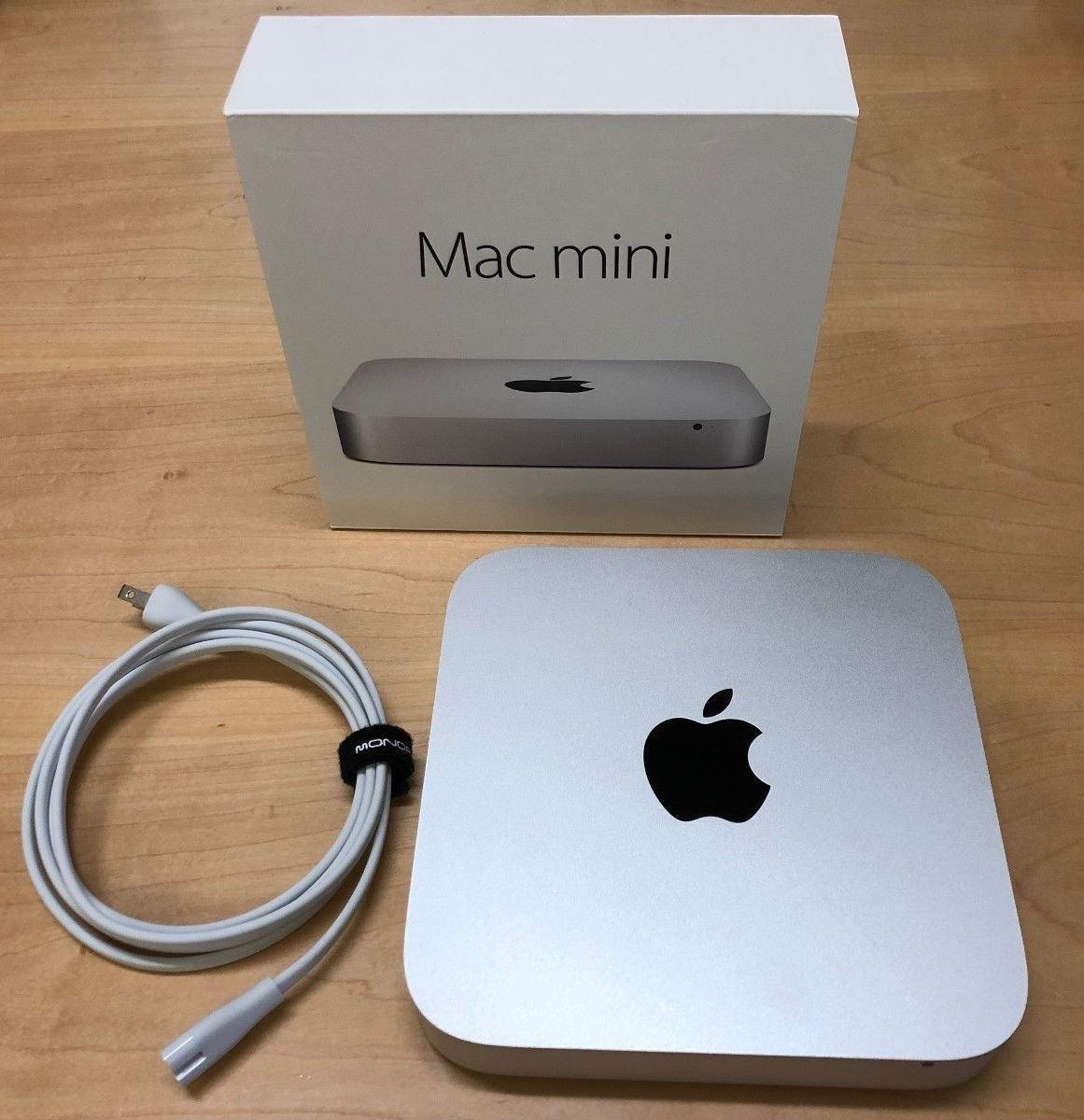 Refurbished Apple A Grade Desktop Computer Mac mini Aluminum Unibody 2.6GHZ Dual Core i5 (Late 2014) MGEN2LL/A 8 GB DDR3 1 TB HDD Intel Iris Graphics 5100 Sierra 10.12