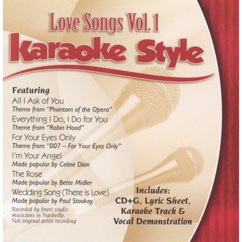 KARAOKE STYLE: LOVE SONGS 1 / VARIOUS