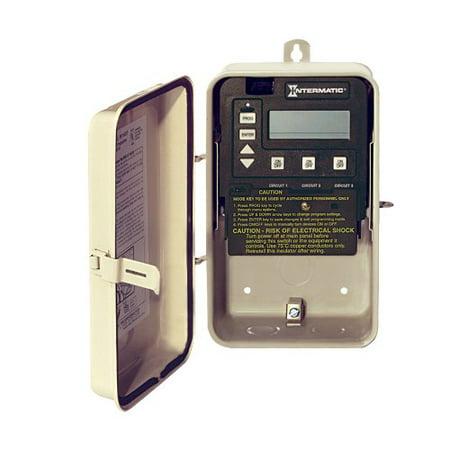 Intermatic PE153 Digital Time Clock In Type 3R Metal Enclosure