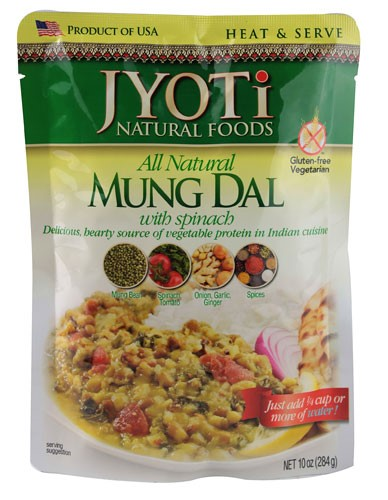 Jyoti All Natural Mung Dal with Spinach 10 Ounce by Jyoti