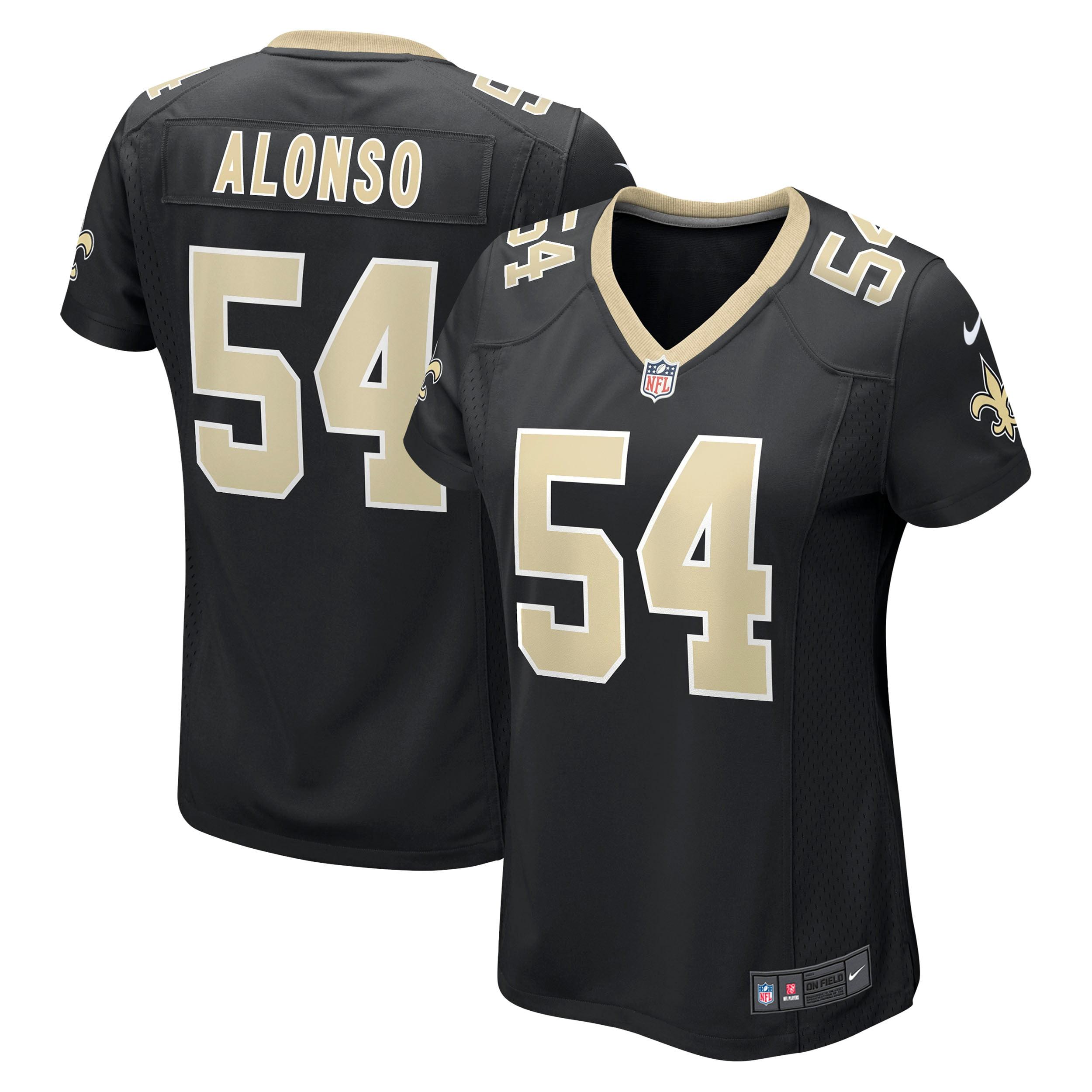 Kiko Alonso New Orleans Saints Nike Women's Game Jersey - Black - Walmart.com