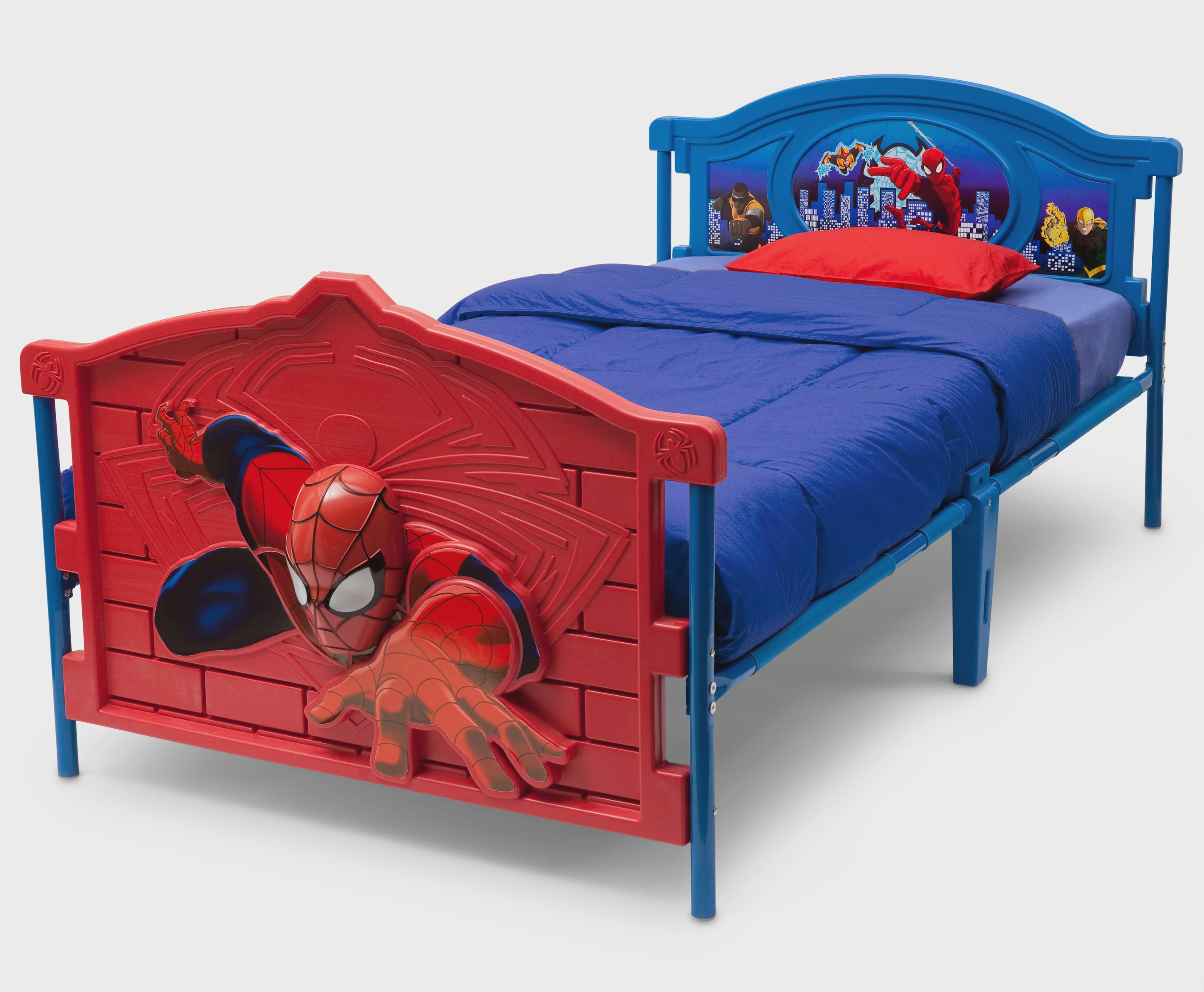 Marvel Spider-Man 3D Twin Bed by Marvel