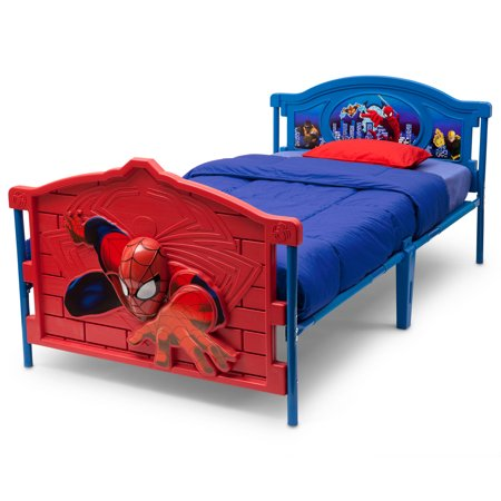 Marvel Spider-Man 3D Twin Bed - Walmart.com