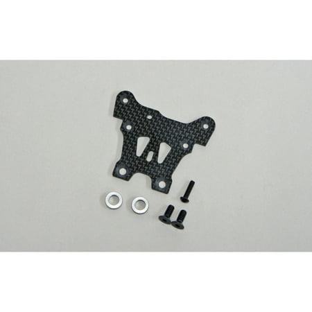 Mugen Seiki USA Graphite Front Upper Steering Plate: X8, MUGE2158