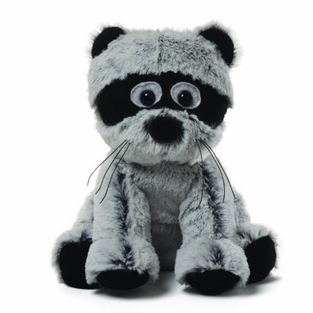 Gund Mushmellows Seated Racoon Plush (Mario Racoon)