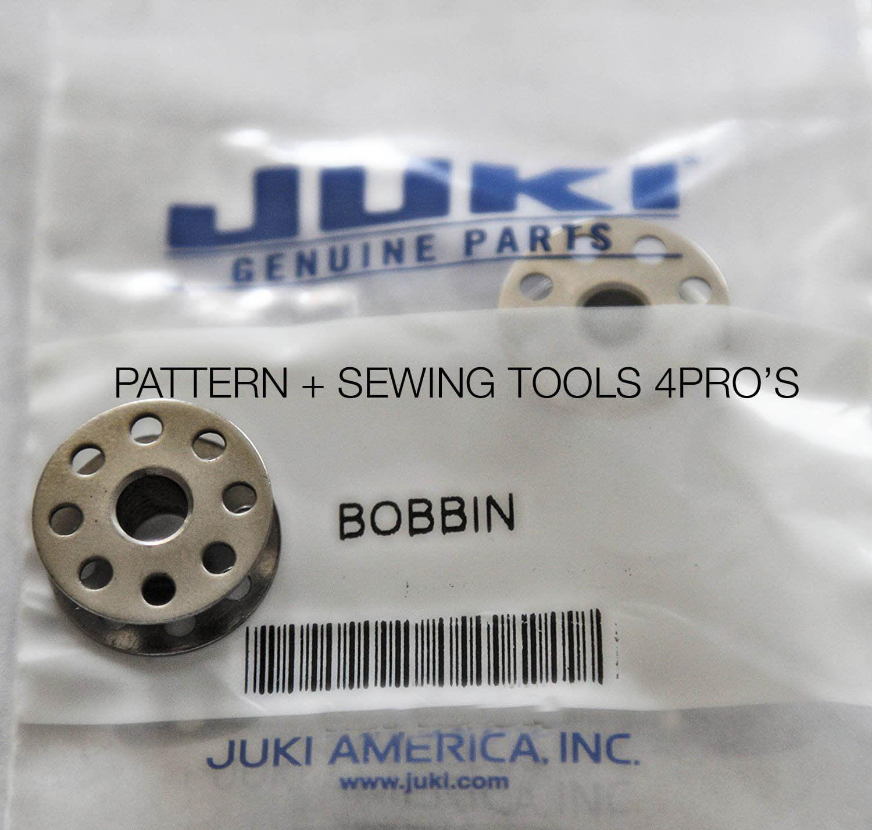 Juki DDL-8700-7 DDL-9000 Original Aluminum Bobbins 10 Pk #229-64001