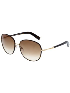 a7d6b522145f Product Image Tom Ford Women s Gradient FT0498-52F-59 Brown Oval Sunglasses