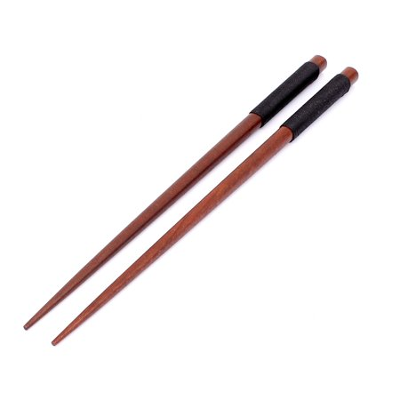 Home Kitchen Twine Handle Dining Non-slip Wooden Chopsticks 22.5cm Long