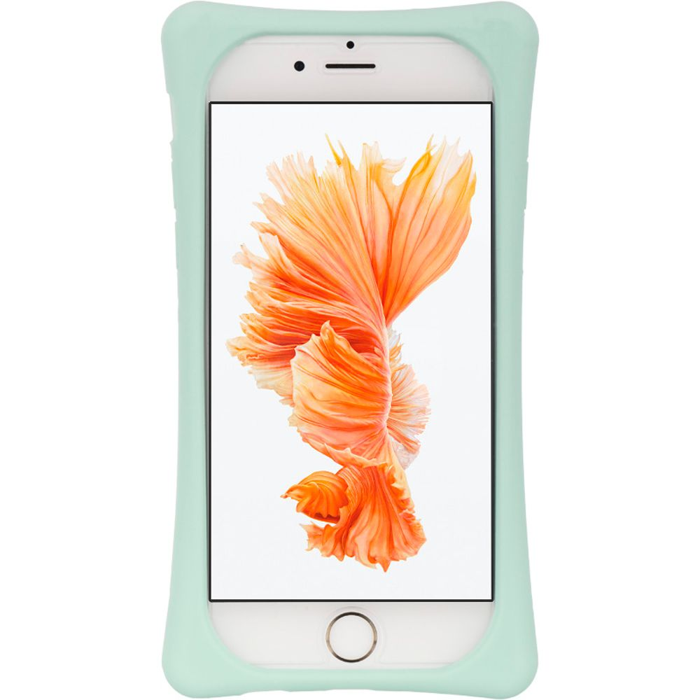 Insten Hard Plastic Silicone Cover Case w/stand For Apple iPhone 6 / 6s - Teal/White - image 2 of 3