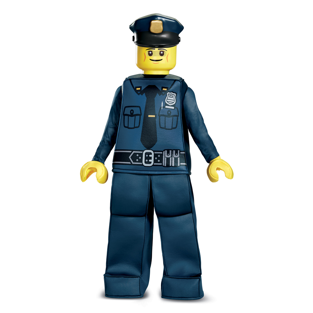 Kids Lego Police Officer Prestige Halloween Costume by Disguise