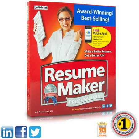 individual software resume maker professional deluxe 17 - Individual Software Resume Maker