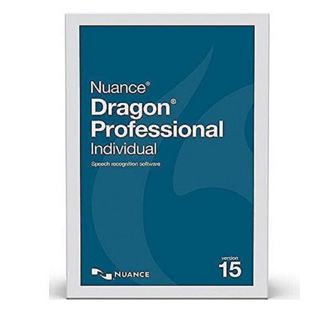 Nuance K809A-S00-15.0 Dragon Professional Individual State and Local Government Version 15 Speech Recognition Software