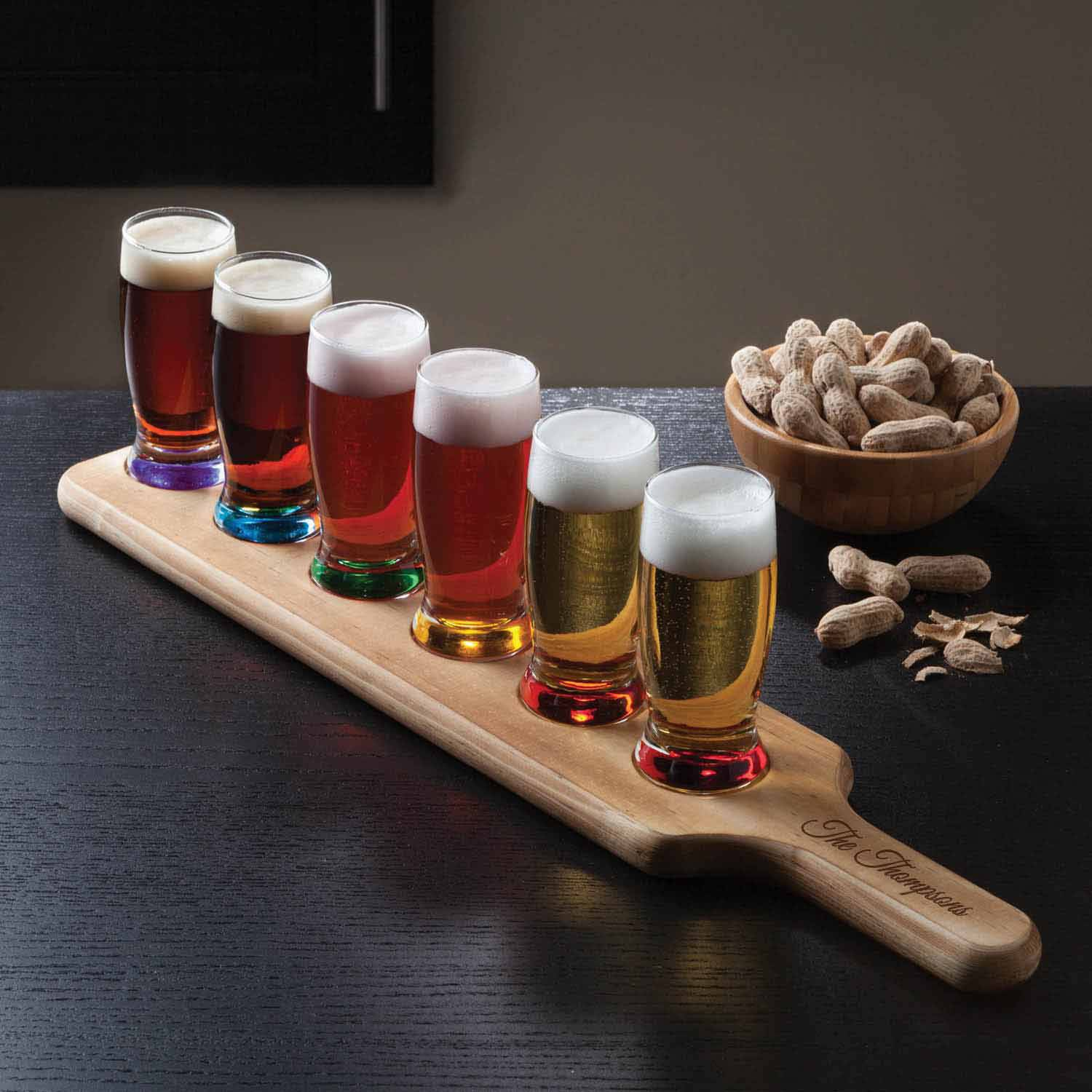 Personalized Family Name 7-Piece Tasting Set