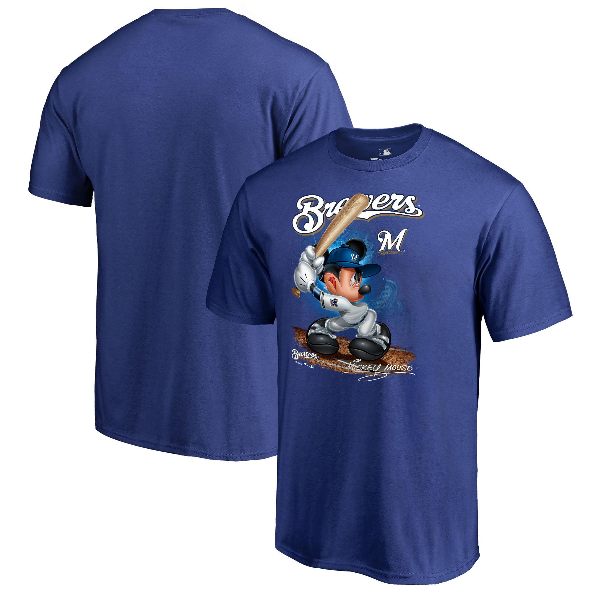 Milwaukee Brewers Fanatics Branded Youth Disney All Star T-Shirt - Royal