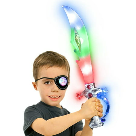 2pks LED lightup children Pirate Sword with sounds - Sword Sound