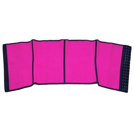 Waist Trainer Under bust Corset Girdle | Pink | Women Weight Loss Hourglass Body Shaper | Workout Fitness Cincher Shaper for Women - image 7 of 8
