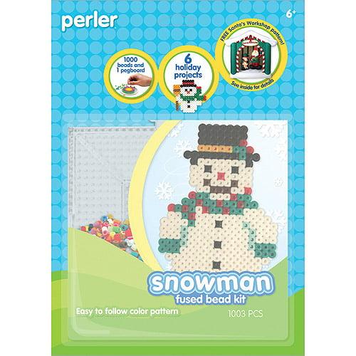 Perler Fun Fusion Fuse Bead Activity Kit, Snowman