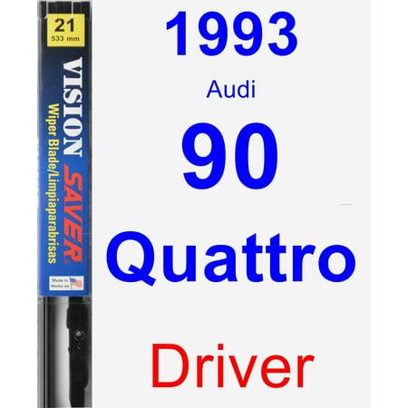1993 Audi 90 Quattro Driver Wiper Blade - Vision Saver 1993 Audi 90 Quattro